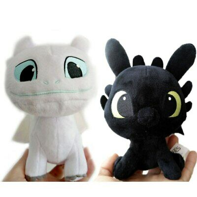 How to Train Your Dragon Light Fury plush toy Toothless girlfriend white dragon