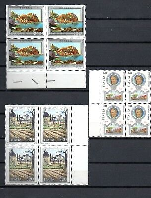 LOT TIMBRES D'ITALIE x 4 NEUF** TBE ANNEE 1979