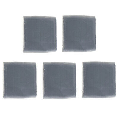 5x Kneaded Art Eraser, Grey Soft Durable Putty Rubber,Large Kneadable Rubber