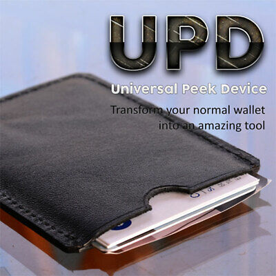 Universal Peek Device Gimmick Ultimate Wallet Mind Reading Utility Magic Trick