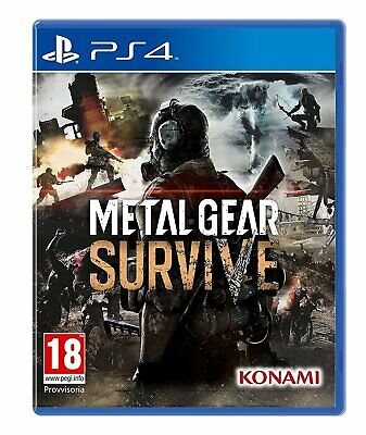Metal Gear Survive PS4 Game - Brand New - Sealed - Stock From Perth