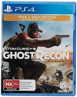 Tom Clancys Ghost Recon: Wildlands Year 2 Gold Edition PS4 Game Stock From Perth