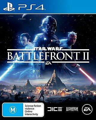 Star Wars Battlefront II 2 PS4 Game - Brand New - Sealed - Stock From Perth