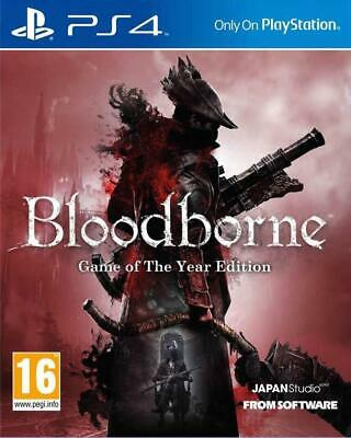 Bloodborne Game Of The Year Edition PS4 Game Brand New Sealed Stock From Perth