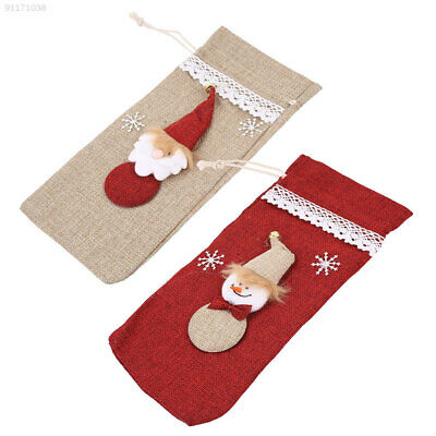 5740 Christmas Wine Champagne Bottle Cover Clothes Party Decorations Creative