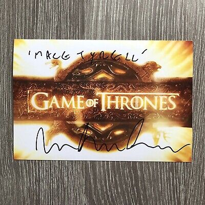 Roger Ashton-Griffiths - Genuine Hand Signed Autograph - Game Of Thrones
