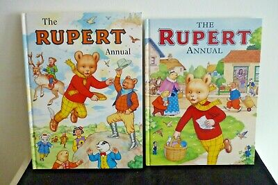 2 Mint Condition Rupert Annuals, 1999 And 2007