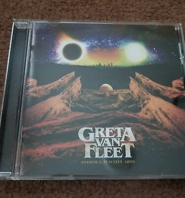 Greta Van Fleet - Anthem of the Peaceful Army NEW CD 2018