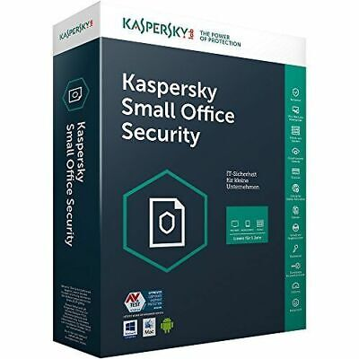 Kaspersky Small Office Security Vers. 6 (1 Server + 5 PC + 5 Mobile Geräte) ESD
