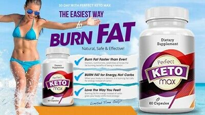 PERFECT KETO MAX - ADVANCED WEIGHT LOSS (60 Capsules) FAST & UK FREE SHIPPING