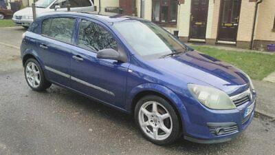 vauxhall astra life 2005 1.7 cdti diesel moted cheap tax