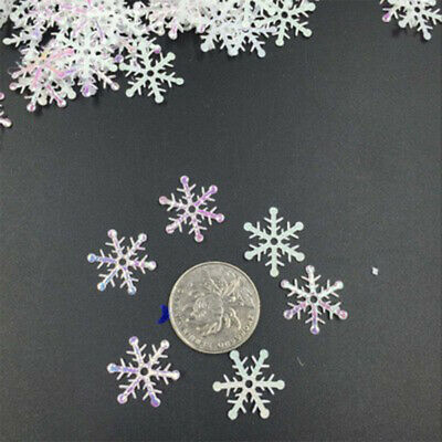 3691 Snowflake Creative White Party Decor Handcrafts Home Featival 300pcs DIY