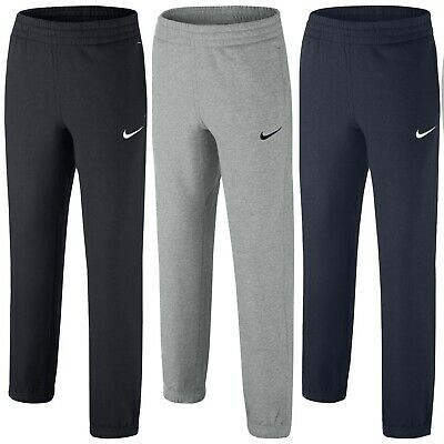 New Boys Junior Kids Nike Fleece Tracksuit Jogging Bottoms Joggers Sweat Pants