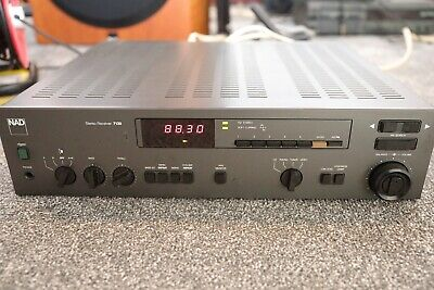 NAD 7130 Stereo Receiver. In good condition. MC/MM Phono input.
