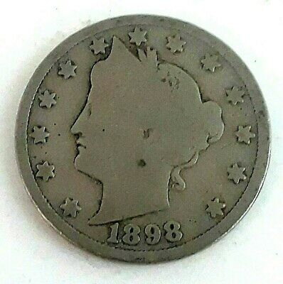 1898 LIBERTY HEAD V Nickel * 5 cents