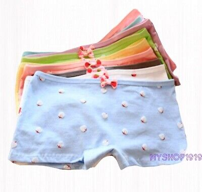 5 Pack Girls Boxer Shorts Briefs Pants Unicorn Knickers Underwear Age 5-13 years