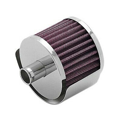 """Universal Crankcase Air Breather Red Filter 5//8/"""" Inch 15mm Inlet For Oldsmobile"""