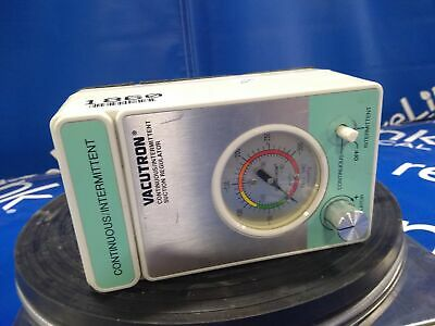 Allied Health Products CHEMETRON VACUTRON CONTINUOUS/INTERMITTENT SUCTION REG...