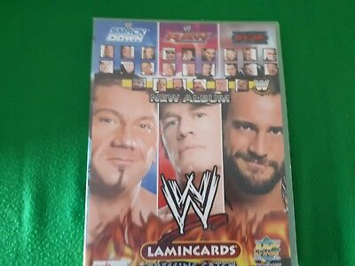 World Wrestling Colecction Lamincards – Album Incompleto