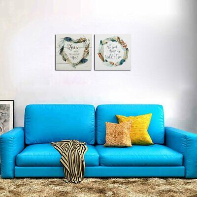 234 PH-338-339 Canvas Prints Painting Home Room Decor Wall Art Poster AF