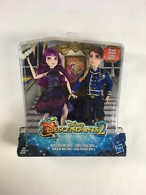 Disney Descendants 2 - Royal Cotillion Couple - Set Of 2 Dolls - New