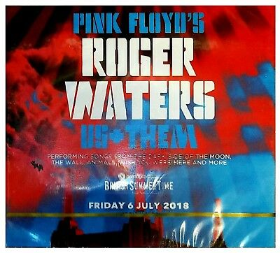 2CD Roger Waters - Us + Them - Friday 6 July 2018 Hyde Park London