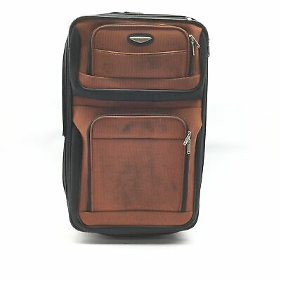 Travelers Choice Travel Select Amsterdam 25-Inch Expandable Rolling Upright, Ora