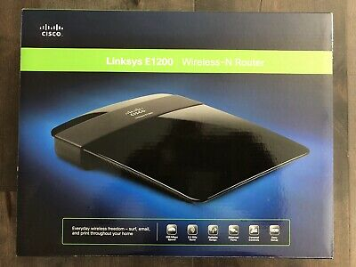 CISCO LINKSYS E1200 Wireless N Router - $9 00 | PicClick