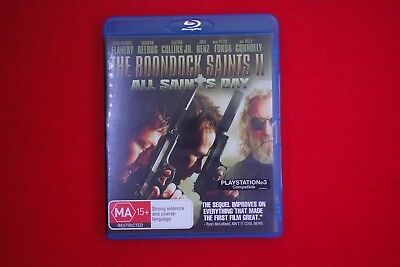The Boondock Saints 2 All Saints Day - Blu Ray - Free Postage !!