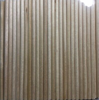 Craft Wooden Sticks - Natural - 10Cm X 4Mm - 50 Pieces - New & Sealed