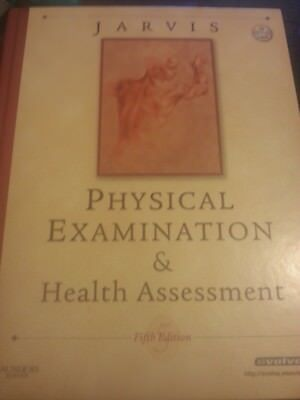 Jarvis Physical Examination & Health Assessment.Hardback with CD.
