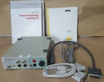 ADInstruments Powerlab/410 Dual Channel Human Psychology Teaching System IWORX