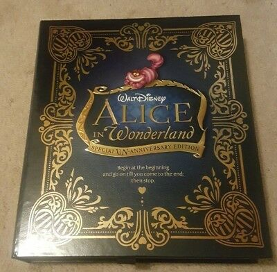 Alice in Wonderland Special Edition Premium Collectors Box Set (Blu-ray/DVD) NEW
