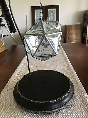 Zakay Ankaa Geometrica Glass Sculpture size Small (Stand Not Included)