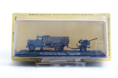 DeAgostini IXO 1/72 Opel Blitz (kfz.305)20mm Flak 38 Goering Military WW2 German