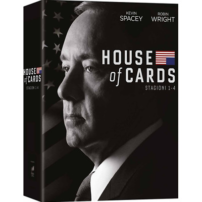 STV *** HOUSE OF CARDS - Stagione 01-04 (16 Dvd) *** sigillato