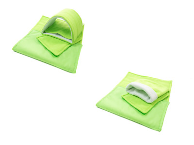 SET of lime C&C and Ferplast cage liners (small)