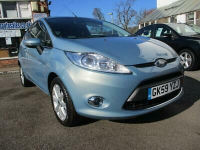 2009 59 Ford Fiesta 1.25 3 Dr ( 82ps ) 2009MY Zetec