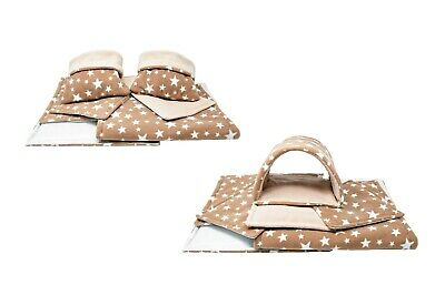 SET Of Beige Stars C&C And Ferplast Cage Liners For Guinea Pig