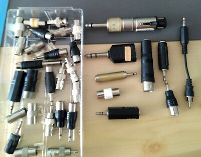 Lote Lot Pack 30 Adaptadores - Adapters - Vintage