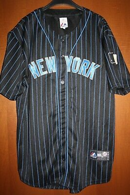 Maglia Shirt Jersey Trikot Maillot Baseball New York Yankees Majestic MLB 67237bb5b512