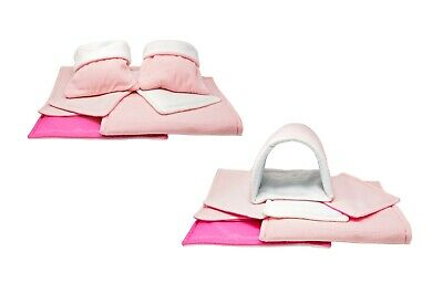 SET of Baby pink C&C and Ferplast cage liners