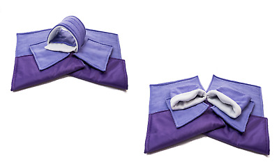SET Of Purple C&C And Ferplast Cage Liners