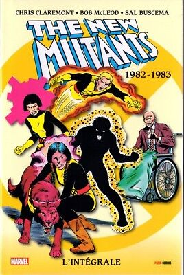 Intégrale Marvel New Mutants 1982 1983 Panini