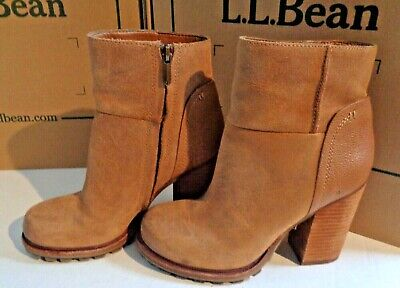 a27712d9ced9fa Sam Edelman 7 M Franklin Camel Leather Suede Waterproof Tan Whiskey Ankle  Boots