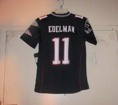Julian Edelman New England Patriots Youth Jersey L Large 14-16 Nike Nfl Nwt c1a6932b1