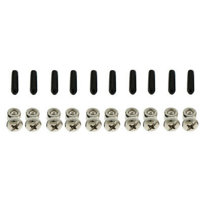 Prettyia 5 Sets Replacement Screws End Caps for Speed Cable Jump Skip Ropes