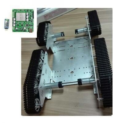 Smart DC 9V Robot Car Chassis Compatible with Arduino, Bluetooth Control Kit