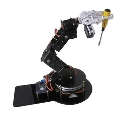 Aluminium Alloy 6 Axis Robot Manipulator Arm Gripper Servo Base For Arduino