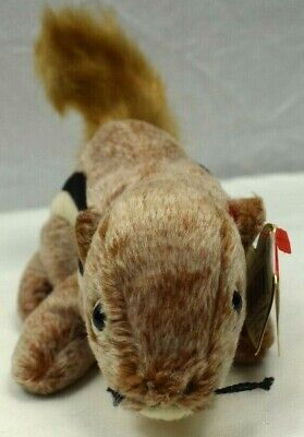 e3a497a2353 TY BEANIE BABIES Chipper the Chipmunk 1999 Retired with Errors ...